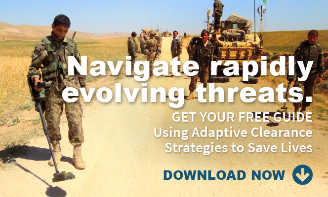 Navigate rapidly evolving threats - Get your Free Guide Using Adaptive Clearance Strategies to Save Lives